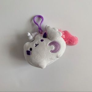 Unicorn Pusheen Cat Keychain